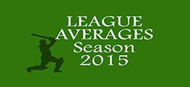 LEAGUE AVERAGES – SEASON 2015