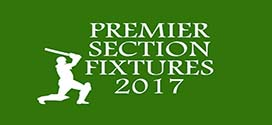 League Fixtures – Season 2017 Premier Section