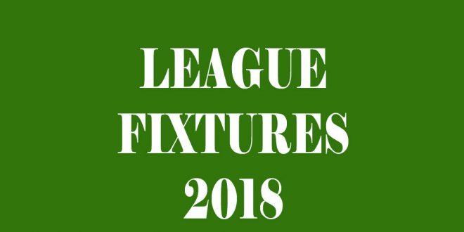 2018 Fixtures Released