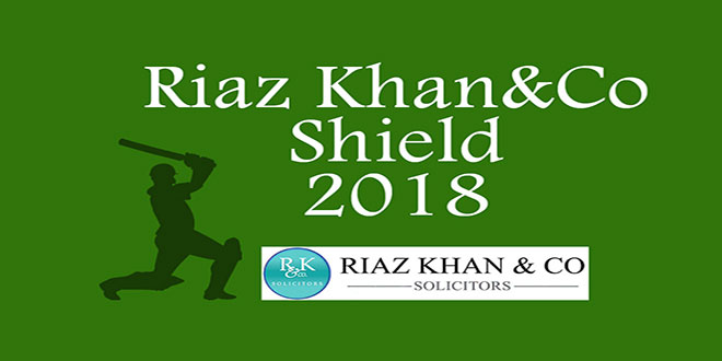 Riaz Khan & Co Solicitors – Shield Competition Draw 2018