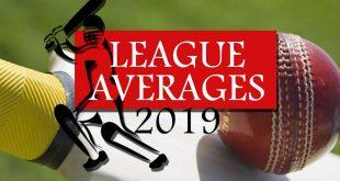 League Averages Season 2019