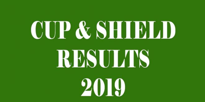 Cup & Shield 2019 – RESULTS