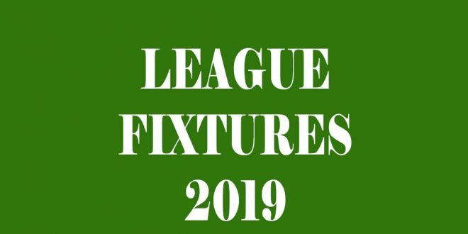 League Fixtures 2019 Released