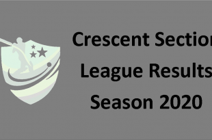 Crescent Section League Results season 2020