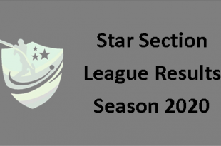 Star Section League Results season 2020