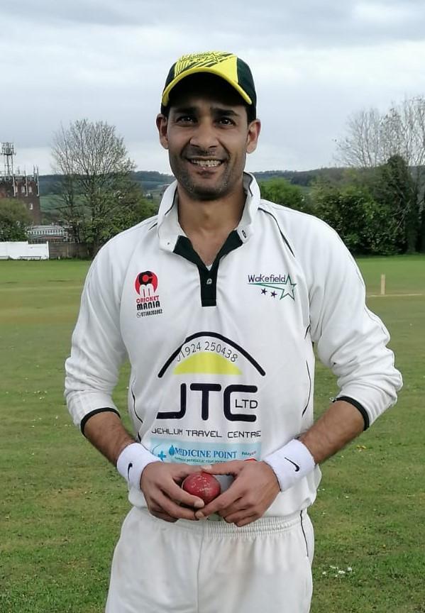 Aamir SiddiqueWakefield Stars 7 for 20 runs