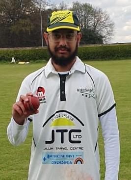 Zayn ShahWakefield Stars CC 5 wickets for 22 runs