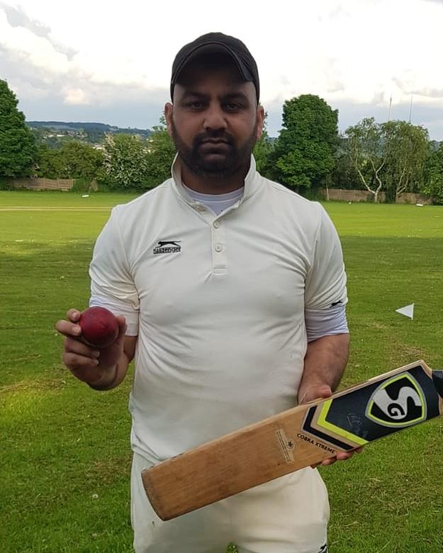 Uman Hussain Heaton Park 51 runs and 6 for 29 runs