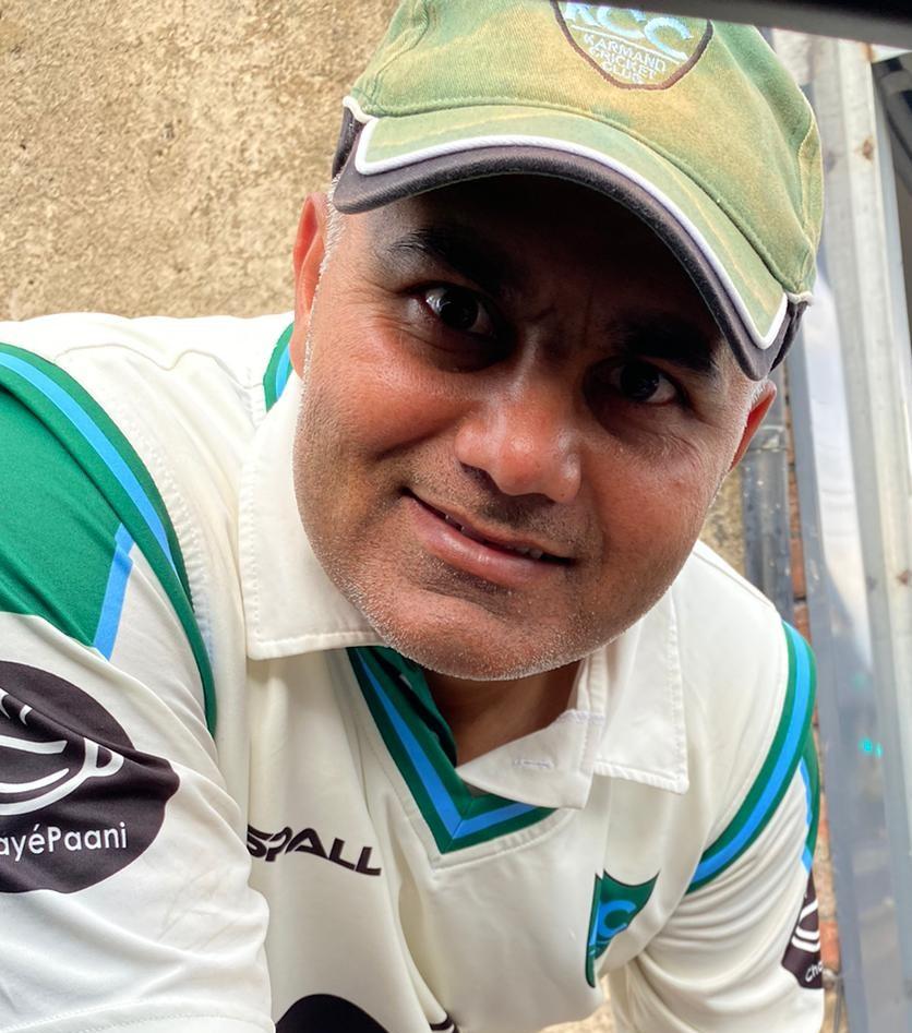 Asif Ayub Karmand 55 runs