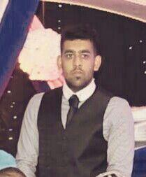 Haaris Hussain not out 57 Heaton Park