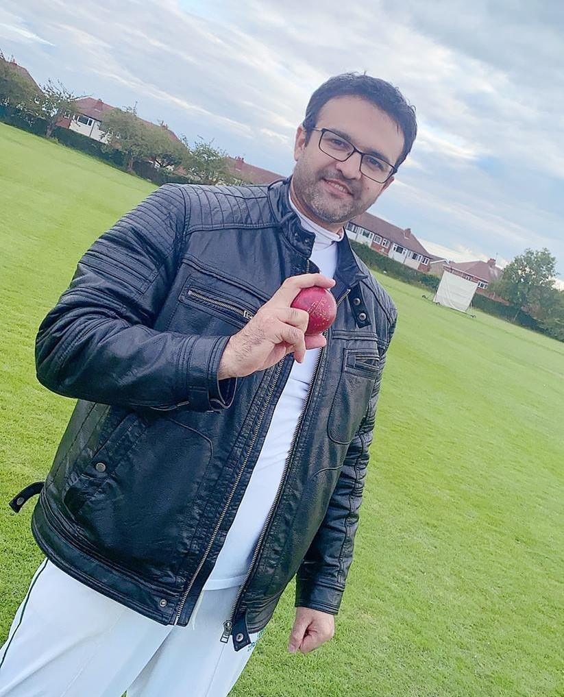 Saqlain shah 50 in 12 balls
