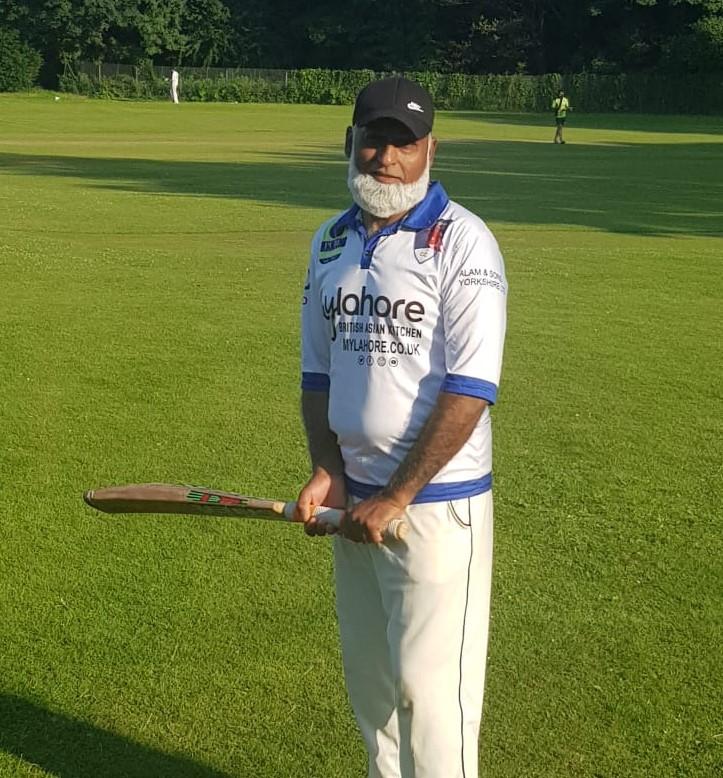 Zahoor Ahmad 47 not out