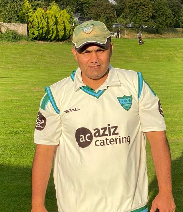 Asif Ayub 87 runs Karmand