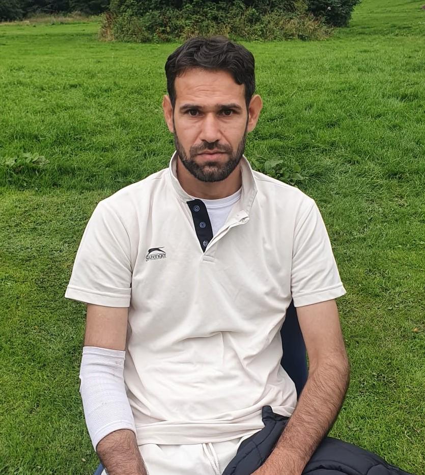 Hussain mohammed 5 wicket 29 runs Khan 1st XI