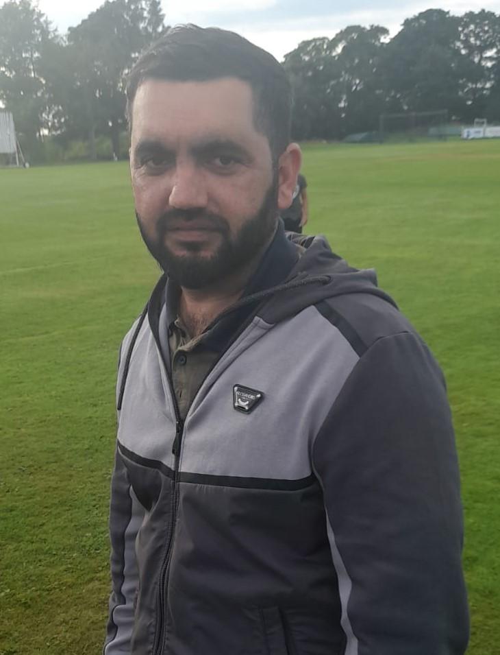 Kashif Yousaf Diamond CC 5 for 20 runs