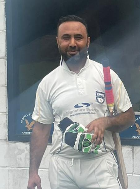 Mazafar hussan Nathia United 67 runs