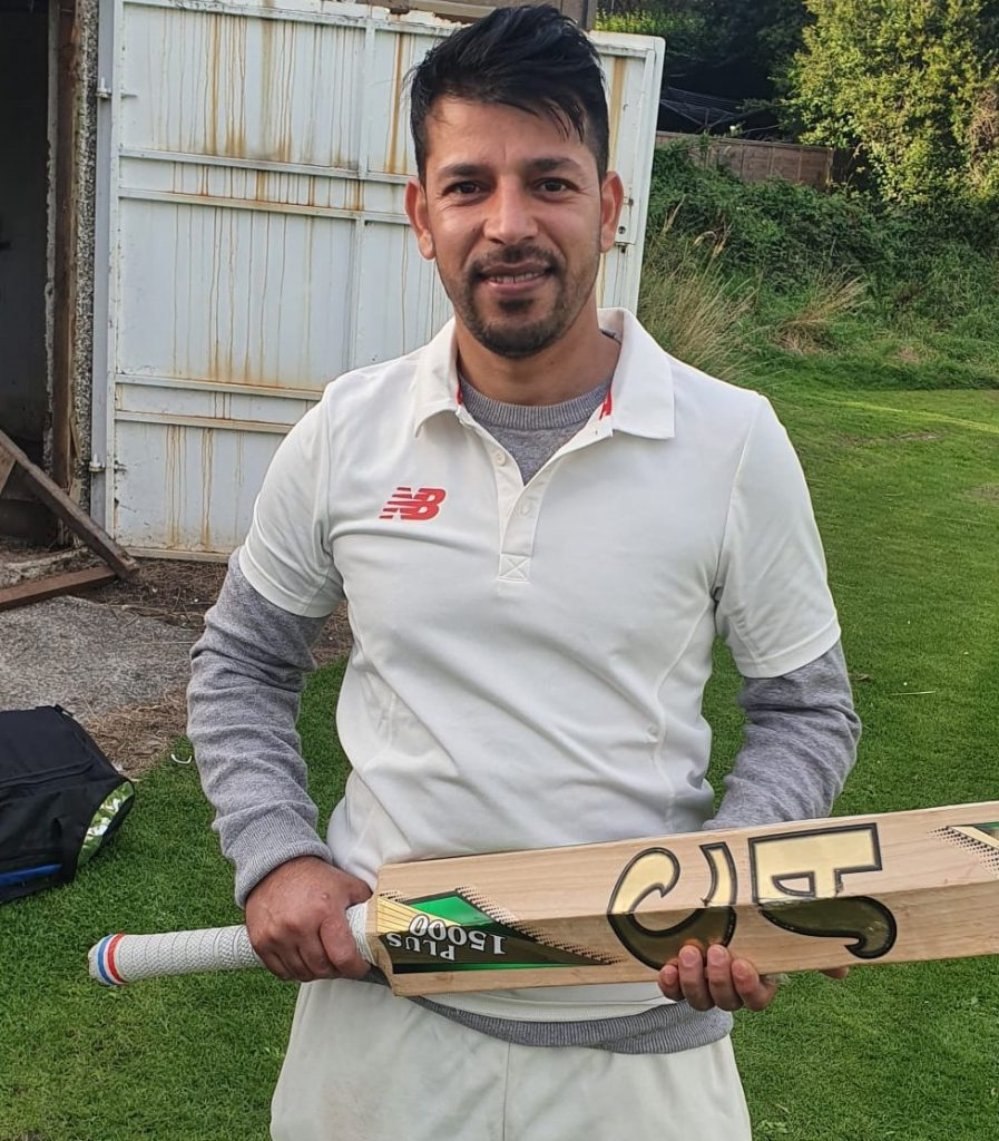 Muhammad israr 57 runs Khan 1st XI
