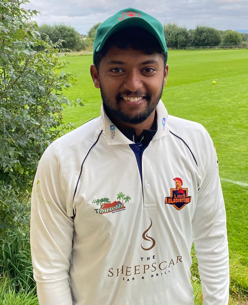 Parth Naik Yorkshire Lions 75 not out