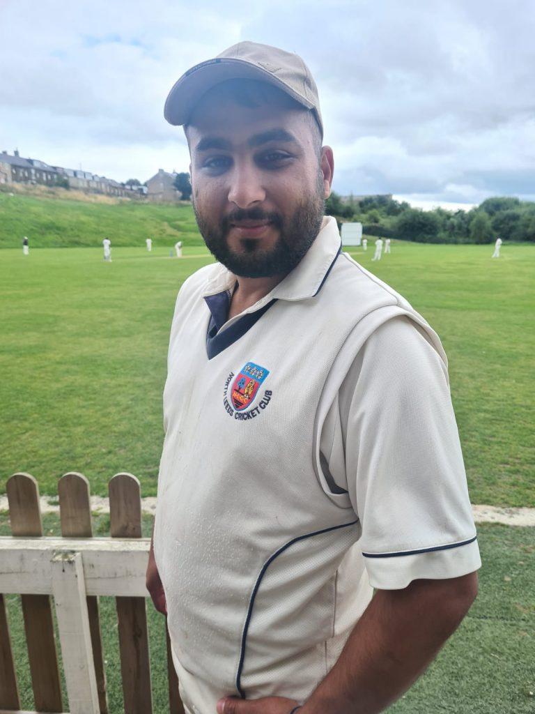 Parvaz Khan 5 for 32 Rising Star