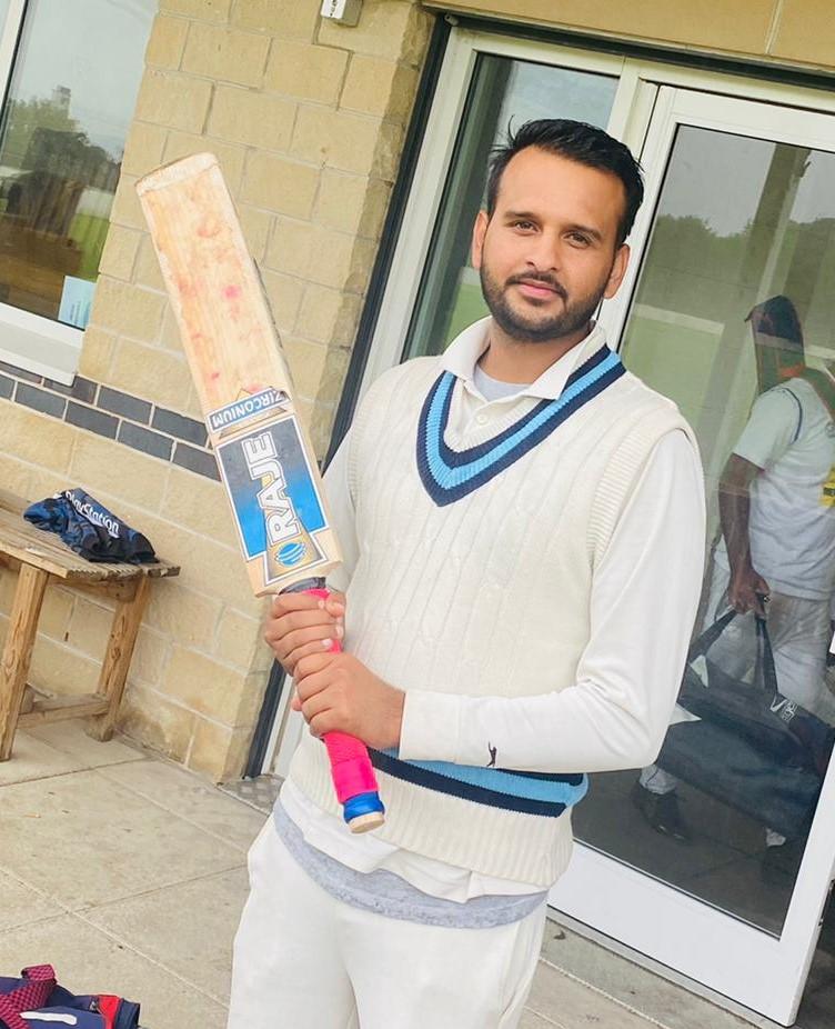 Ubaid Zia Leeds Stallions 110 runs