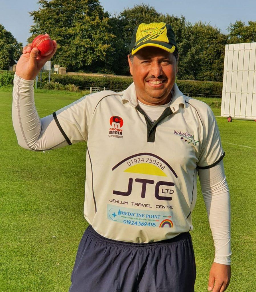 Javed Iqbal Wakefield Star 7 for 24 runs