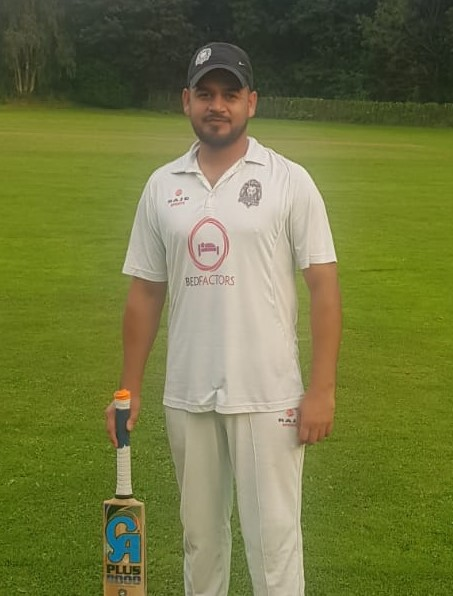 Rashid Mehmood Yorkshire Lions 163 runs