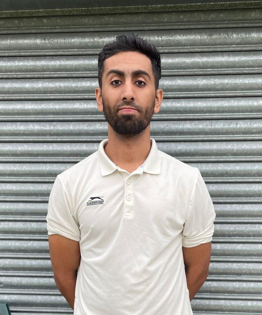Shahbaz Ishaq Heaton Park 52 runs