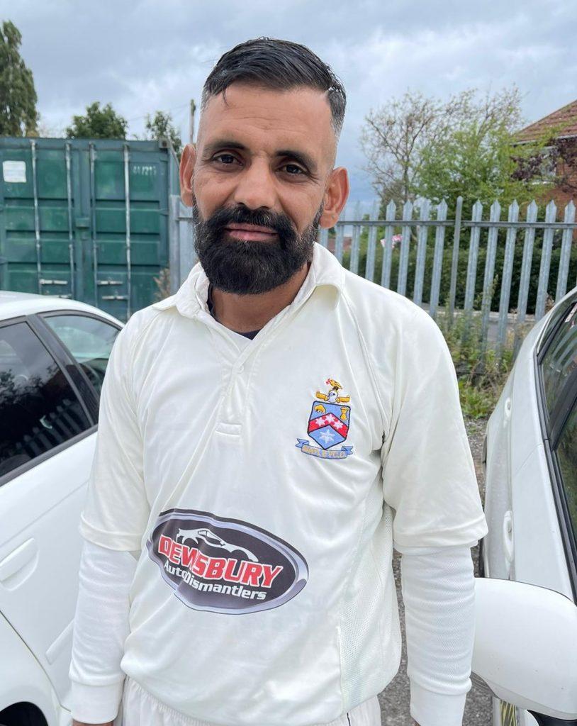 Zahoor Hussain Kings XI 59 runs